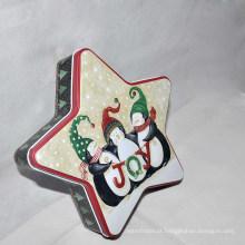 New Fashion Tin Cookies Box, Tin Caixa de lata de chocolate com preço competitivo