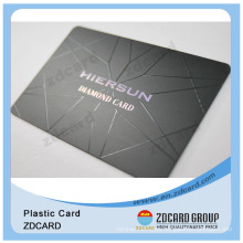 Thin Plastic Card/Sequential Number Plastic Cards/Plastic Gift Card Printing Card
