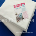 Factory director supply 100%cotton wadding 220gsm cotton batting for baby bedding