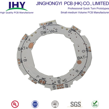 Placa de PCB de aluminio PCB de doble cara para Smartwatch