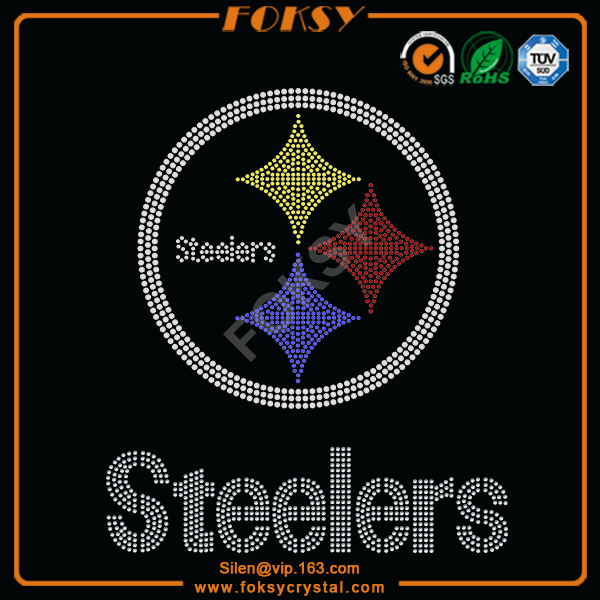 Steelers rhinestone transfer