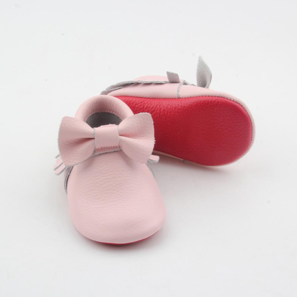 Leather Red Bottom Shoes Baby Shoes