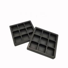 Plateaux de bonbons en plastique d'emballage de boursouflure de chocolat recyclable