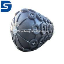Pára-choque de borracha pneumático marinho da venda quente com corrente galvanizada e pneumático feito em China
