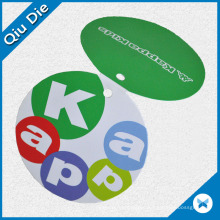 Folding Kappa Hangtag for Kids′ Clothing