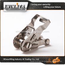 de calidad superior de acero inoxidable retráctil de amarre;liberación rápida de amarre