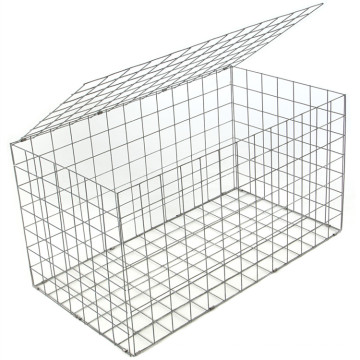 Low Price Defensive Barriers Hexagonal Stone Gabion Box