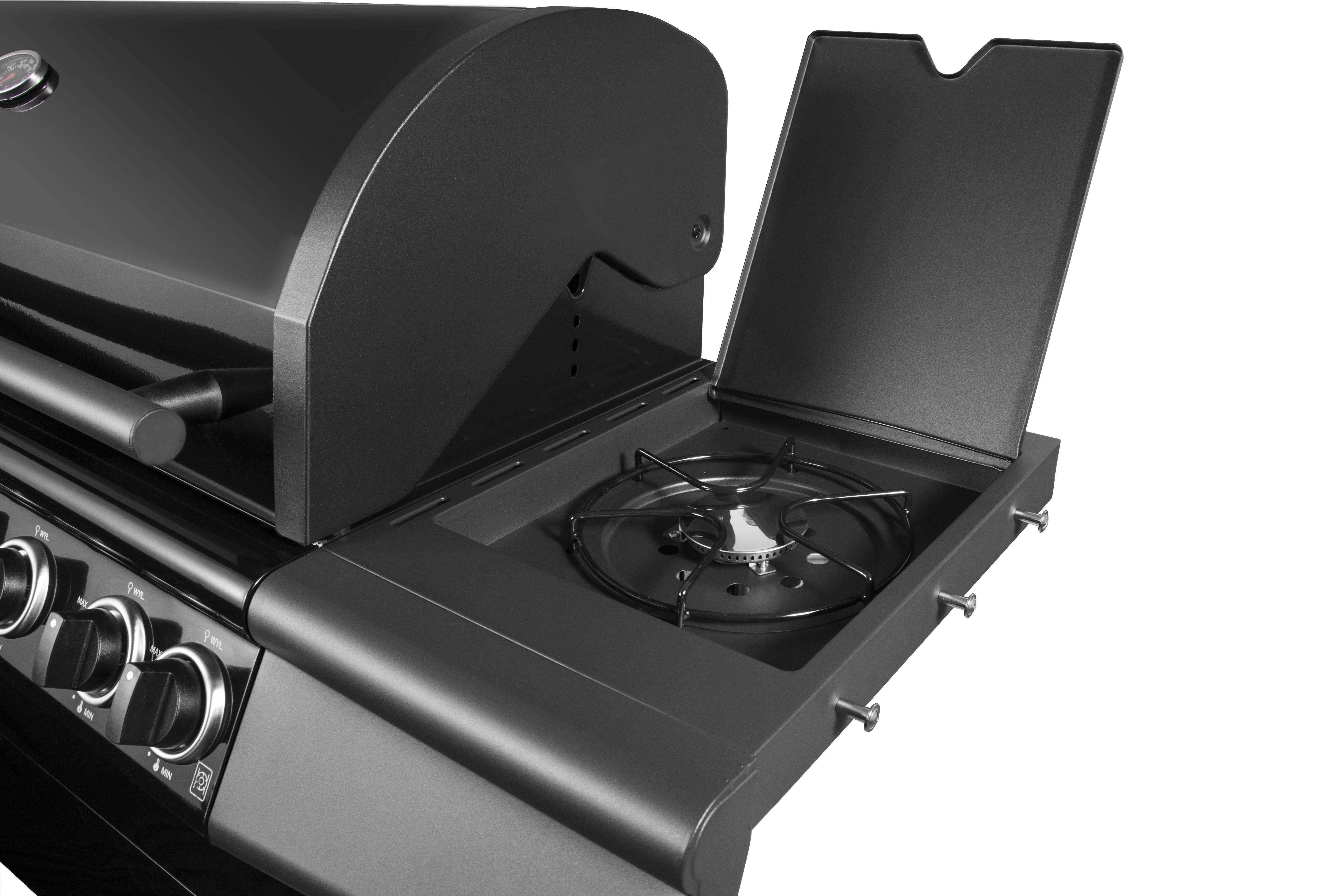 Portable 6 Burner Gas BBQ Grill
