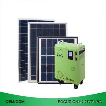 Fora da grade 6.0Kw 3Kwh 110V 220V 4 quilowatts 500W dirigem o sistema de energia solar