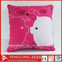 Impression en gros de coton pur couverture d'oreiller