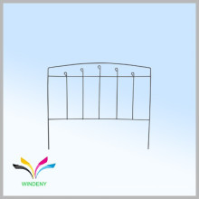 Hot sell decorative welded portable metal fence for gardens