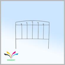 Горячий продавать декоративные сварные портативный металлический забор для сада