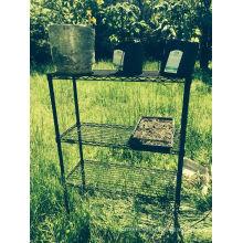 Estante de alambre para hongos Crecimiento Rack