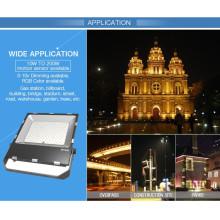 Proyector delgado 100W Dimmable Luz de inundación al aire libre del LED