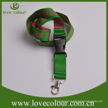 Factory custom plain lanyard with company logo