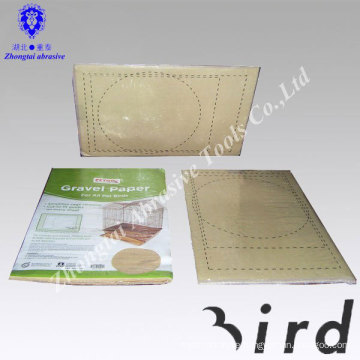pet product bird cage gravel paper