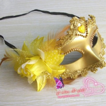 Halloween party lace fabric mask half face mask