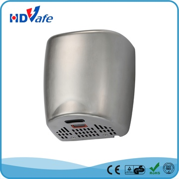 Ce RoHS Stainless Steel 304 High Speed Automatic Washroom Hand Dryer