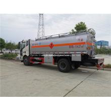 Camion-citerne de carburant 4x2 pour le transport d'huile
