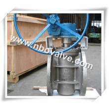 """Válvula de ligação lubrificada invertida da roda da mão (PN2-20 """")"""