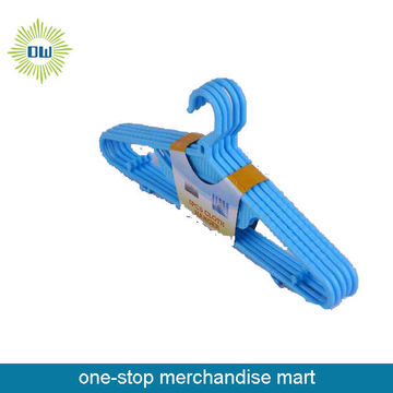 5pc travel coat hangers