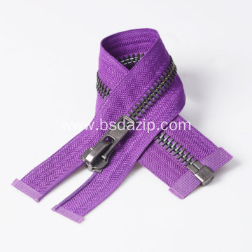 Replacement for Metal Leather 9 Inch Raccagni Zipper
