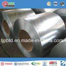Bobine en acier galvanisée / feuille ondulée de toiture, bobine galvanisée