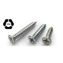 Countersunk Flat Head Tapping Screws with Cross Recessed/Self Tapping Screw/DIN7982