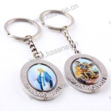 Уникальный дизайн Металлическая дрель Религиозный папа Френсис Католическая связка ключей