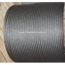 Fil d'acier galvanisé pour câble d'armure