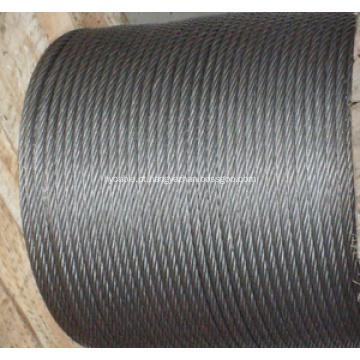 Fio de aço galvanizado para blindagem de cabos