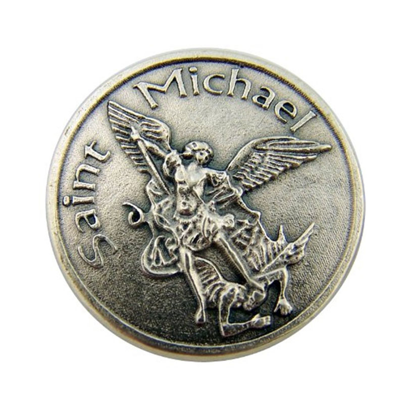Saint Michael Archangel Coin