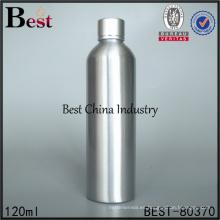 Botella de aluminio vacía 4oz para el aceite