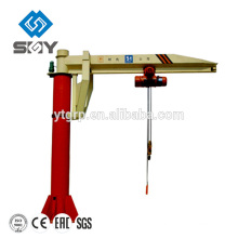 Floor mounted workshop used jib crane for sale