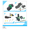 1 Pin Waterproof Male Female Automotive Wire Connector Plug