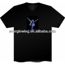 increíble camiseta resplandor en la oscuridad