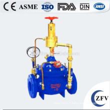Usine prix eau électrique vanne pompe/contrôle régulateur de débit, vanne de régulation de pompe
