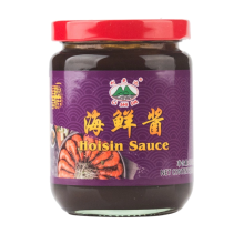 Glass canned seafood sauce 230g