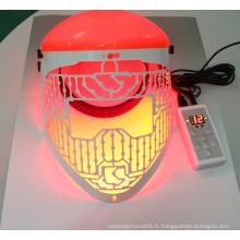 Équipement de beauté PDT a dirigé le masque facial pour le rajeunissement de la peau