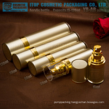YB-AB series 15ml 30ml 50ml 80ml 100ml 120ml classical cylinder acrylic cosmetic pump bottle