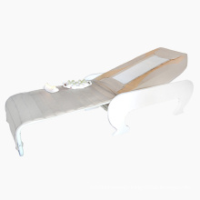 Electric Retractable Wooden Full Body Thai V3 Massage Bed Thermal Jade Massage Table