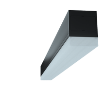 Luminaria lineal led de aluminio de 20w 120 °