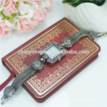 Высокое качество Vintage моды люкс сплава наручные часы для женщин B022