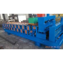 Rollo de acero galvanizado de doble capa que forma la máquina