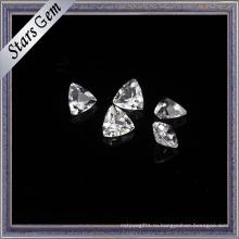 Побрякушки побрякушки формы треугольника натуральный Белый топаз ювелирных изделий