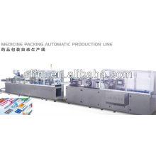 Ligne de production automatique de l'emballage