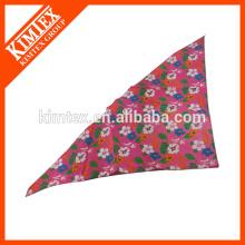 Bandana lindo del triángulo del diseño, pañuelo del perro del logo de la impresión