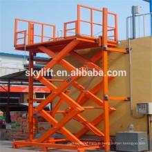 tables élévatrices à ciseaux hydrauliques stationnaires
