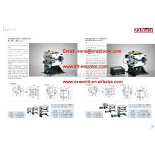 rope brake mechanical/electromagnetic type