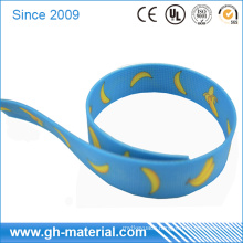 High Abrasion Resistance Waterproof Plastic Coated Webbing in Different Color